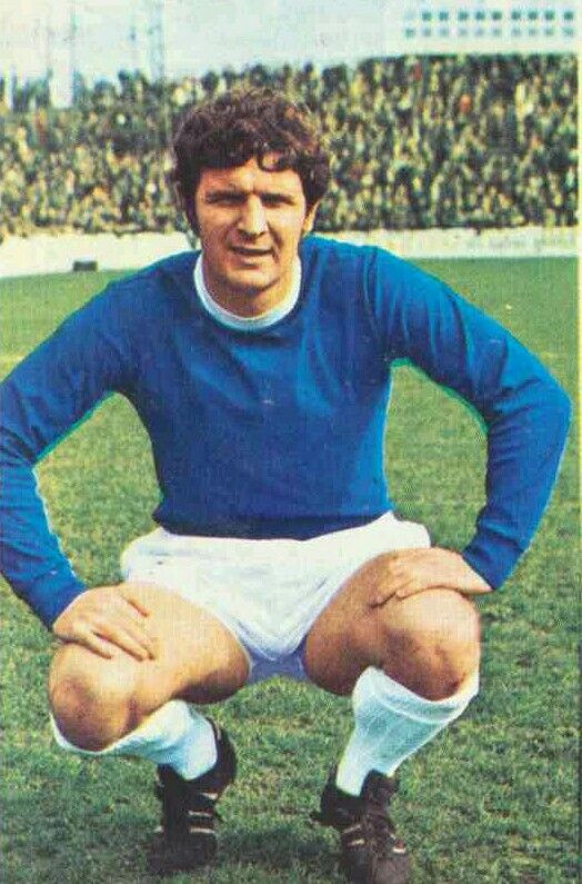 Brian Labone of Everton in 1970.