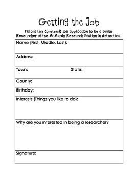 Job that you would like to