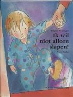 Ik Wil Niet Alleen Slapen ! - B. Weninger - ISBN 9789055796274 - Vanaf ca. 3 jaar - € 13,90  Een kind wordt naar bed gebracht. Maar het wil niet alleen slapen. Dat hoeft ook niet, want er zijn immers knuffels genoeg. Het wordt pas echt moeilijk als het kind geen van die zachte, lieve of leuke knuffels bij zich wil leggen. LEES MEER OF BETSEL BIJ TOPBOOKS VIA : http://www.bol.com/nl/p/ik-wil-niet-alleen-slapen/1001004001571428/