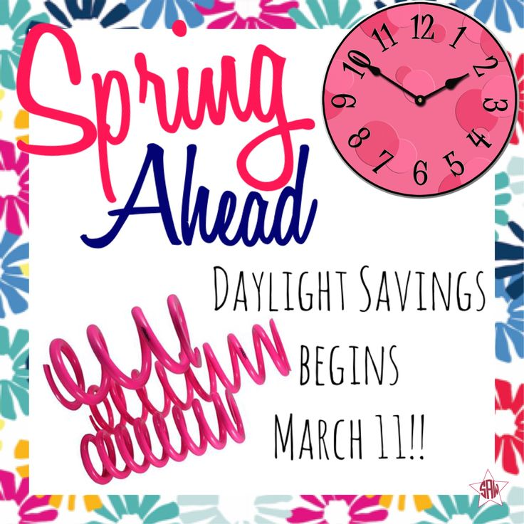 Daylight savings graphic for Facebook group/profile.  Thirty-One Spring/summer 2018. mythirtyone.ca/sabrinawhite