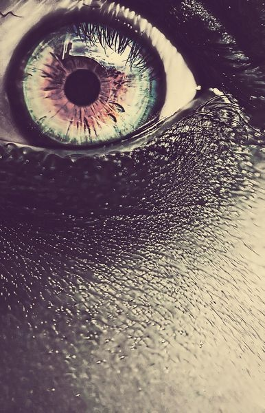 """""""Close up of female eye""""/ by Leslie Ann O'Dell"""