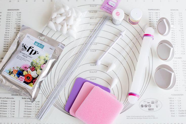 Tillverkning av sockerrosor manual