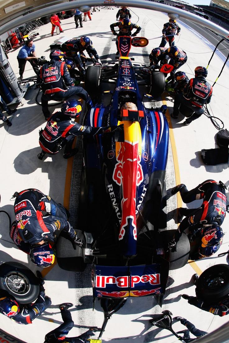 Sebastian Vettel, Red Bull, USGP at Circuit of the Americas, 2012