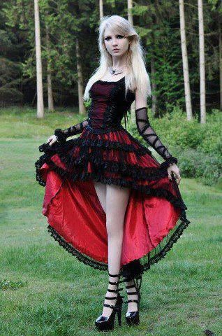 Pin By Becky Vanderbent On Wedding Ideas Pinterest Gothic Dress