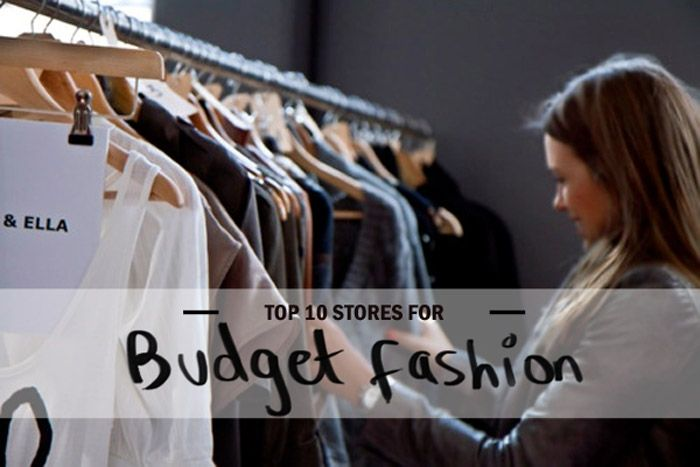 Looking for great budget fashion stores to shop at? Here's my top 10 list! #shopping #fashion
