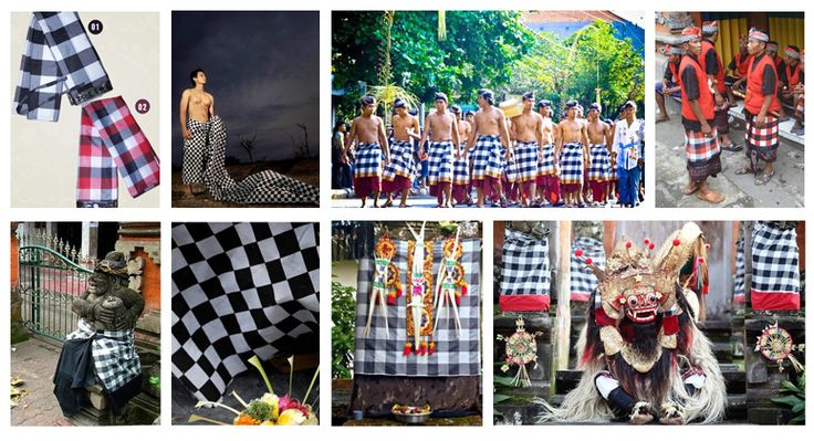 What is saput poleng actually? It's easy to find fabric with motifs of poleng (squares, black and white like a chessboard) here in Bali. For the Balinese, this kind of fabrics are called as saput poleng.