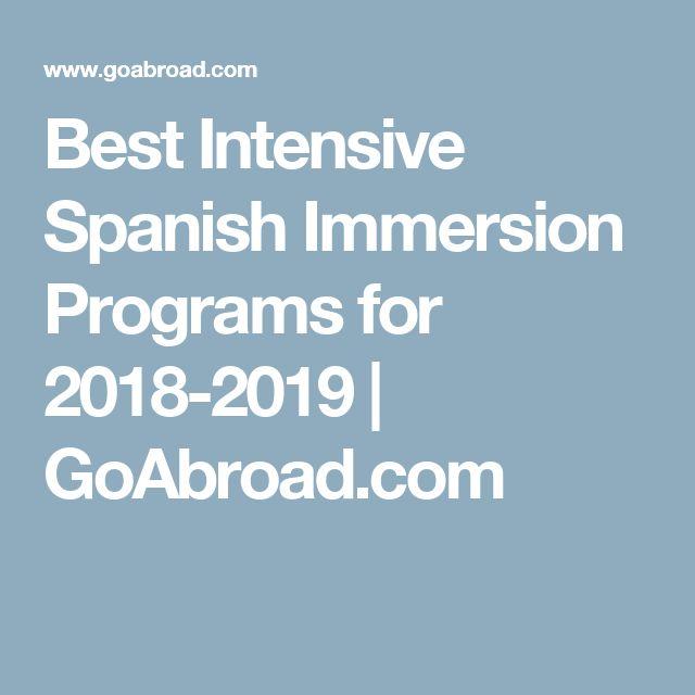 Best Intensive Spanish Immersion Programs for 2018-2019 | GoAbroad.com