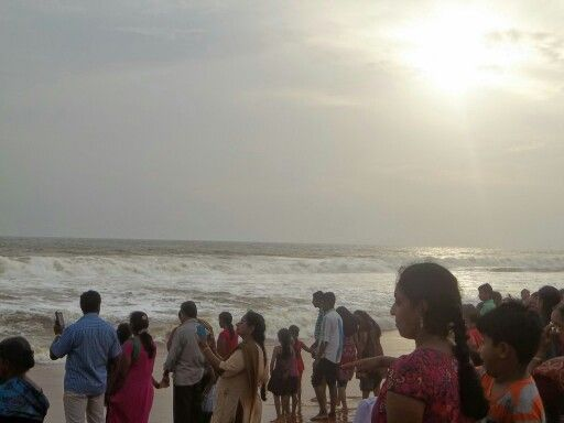 Shangumugham beach, Trivandrum