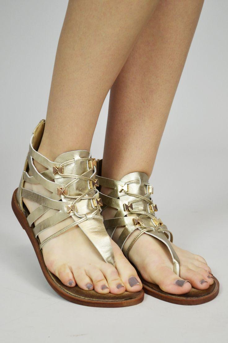 Cleopatra Bow Roman Sandals