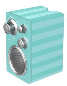 FM-radio med 3,5 mm-ingång
