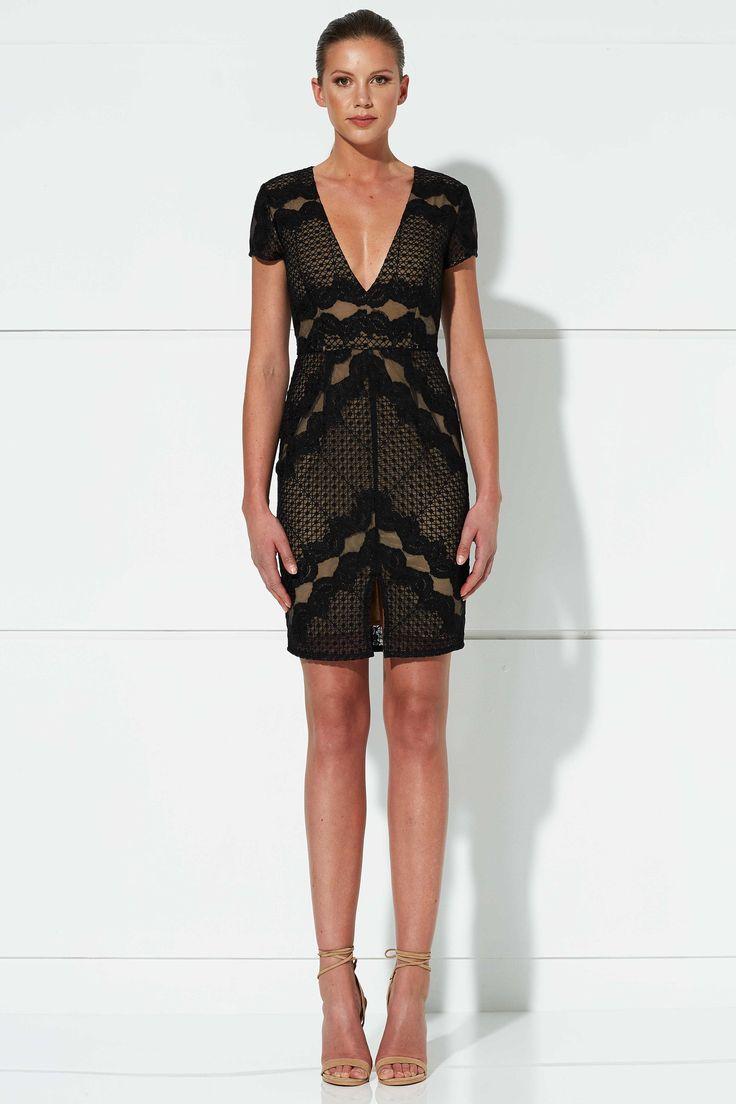 Winona - Cupid Short Dress - Black