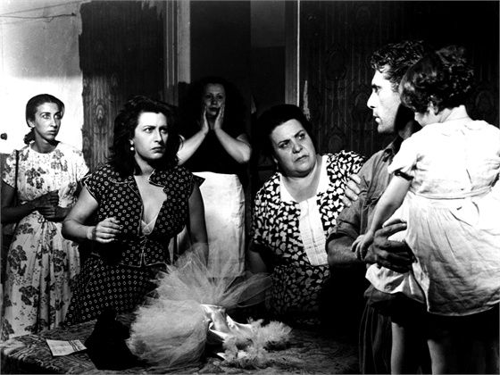 """ Bellissima "" with Anna Magnani, 1951"