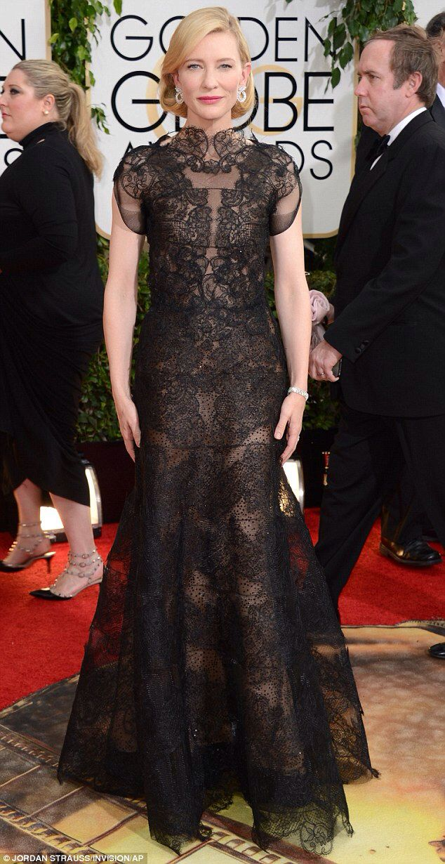 Cate Blanchett at the 2014 Golden Globes