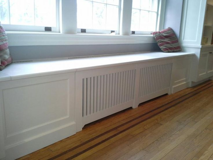 window seat cover radiator - Google Search