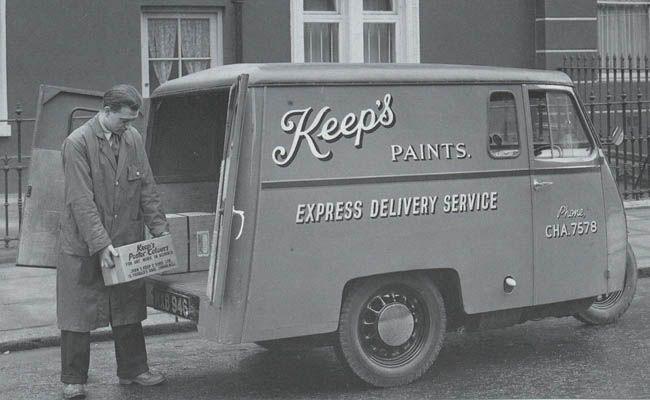 Reliant Regent Van