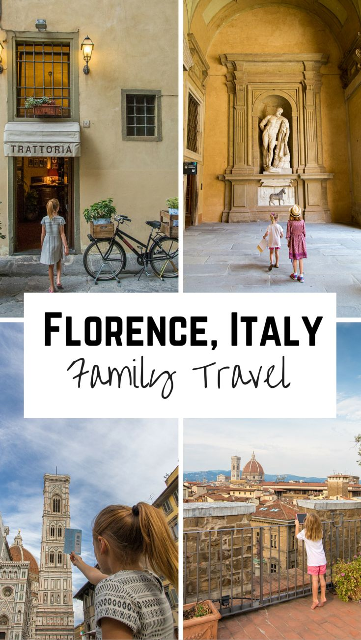 Florence, Italy with kids: Florence isn't naturally kid-friendly. Here are our tips to making it kid-friendly!