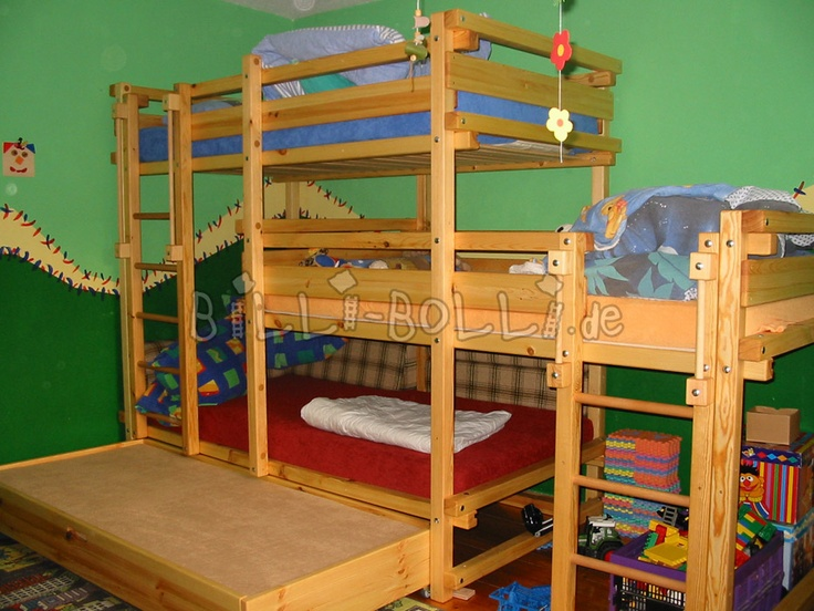 Bed Laterally Staggered For Three Buy Online Billi