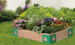 #kids love the #mini #raised #garden #bed #brackets ! Perfect for #home, #schools or #daycares !