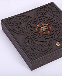 Unique Wedding Invitation Using Idea Of Traditional Indian E Box With Each Compartment Inside Noting The Various Events For Weddings In