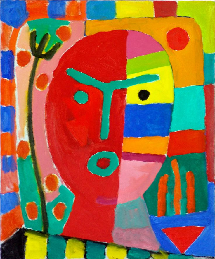 Red Head. 2009. Oil on canvas, 60x50