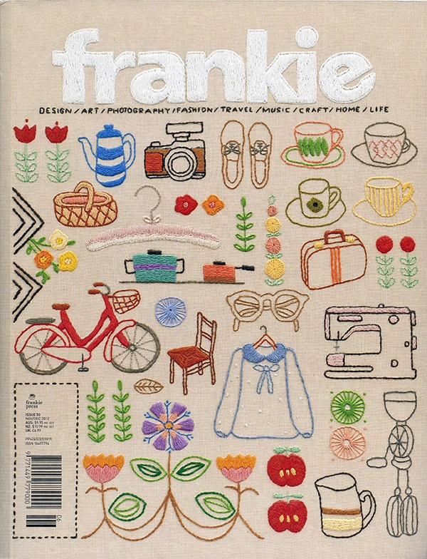 Frankie Magazine // embroidery