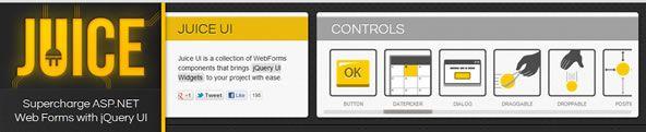 ASP.NET controls for jQuery UI Widgets