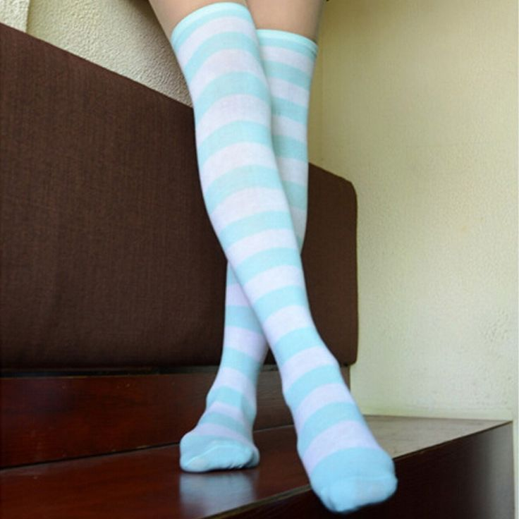 how to put on thigh high compression stockings