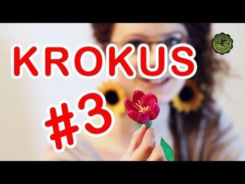 Kwiatki z bibuły cz. 3 - krokus