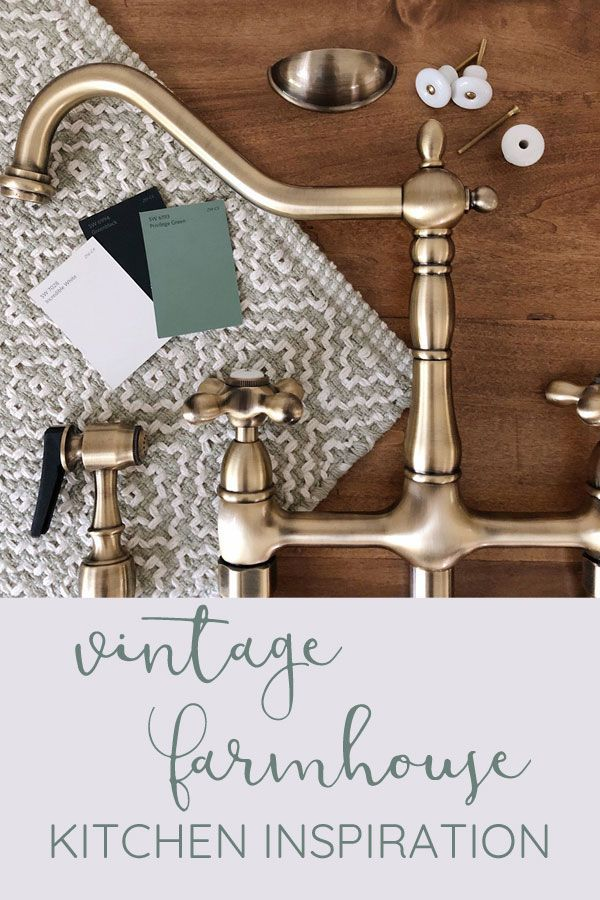 Vintage Style Kitchen Faucets And Orc Progress Farmhouse Style