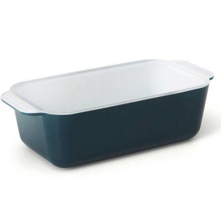 Creo SmartGlass Mediterranean Loaf Pan, Dark Blue
