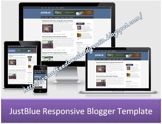 The 75 best Download Demo Responsive Blogger Template images on ...