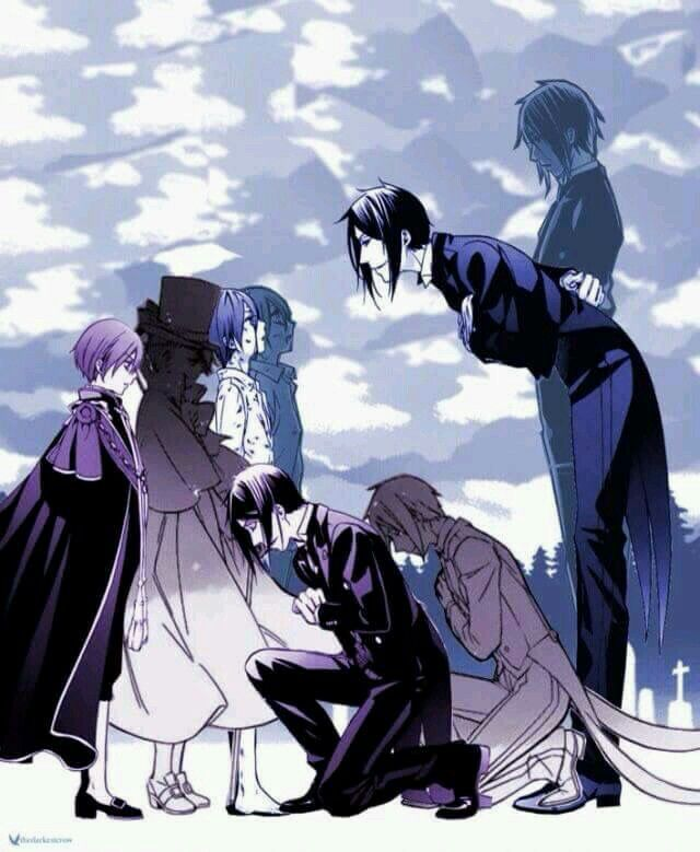 """Yes my Lord"" Shows how Sebastian's attitude towards Ciel changed"