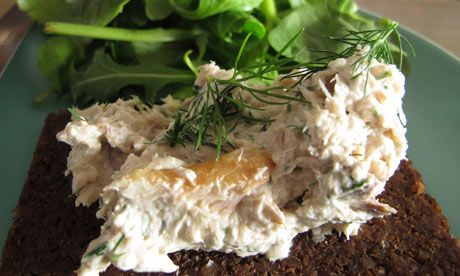 Perfect smoked mackerel pâté (aka 'smak pat'). After looking long and hard at mackerel pate recipes, I have to agree with them. This recipe combines all the best bits! Made this several times.