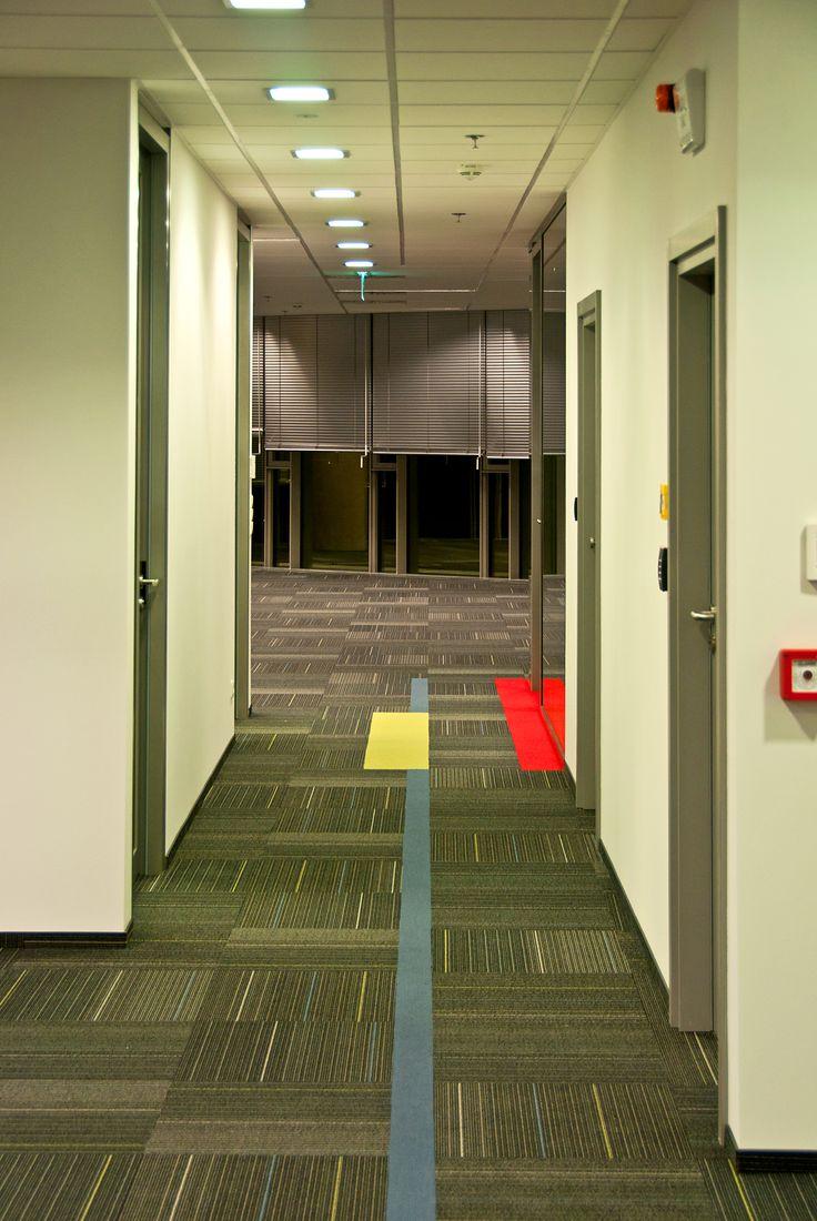 corridor to open space