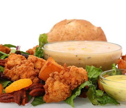 Pecan Crusted Chicken Salad