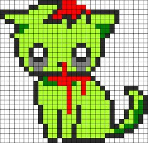 Cool Cat Pixel Art Logo Hot Trending Now