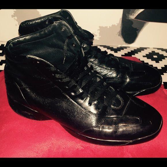 Black Mens Cohans Mens Black City (Mike Tyson) Cohans / Fair condition Cohan Shoes Lace Up Boots