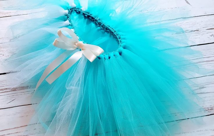 This is a perfect Tutu for a princess party. This blue tutu can also be worn for  dress up clothes