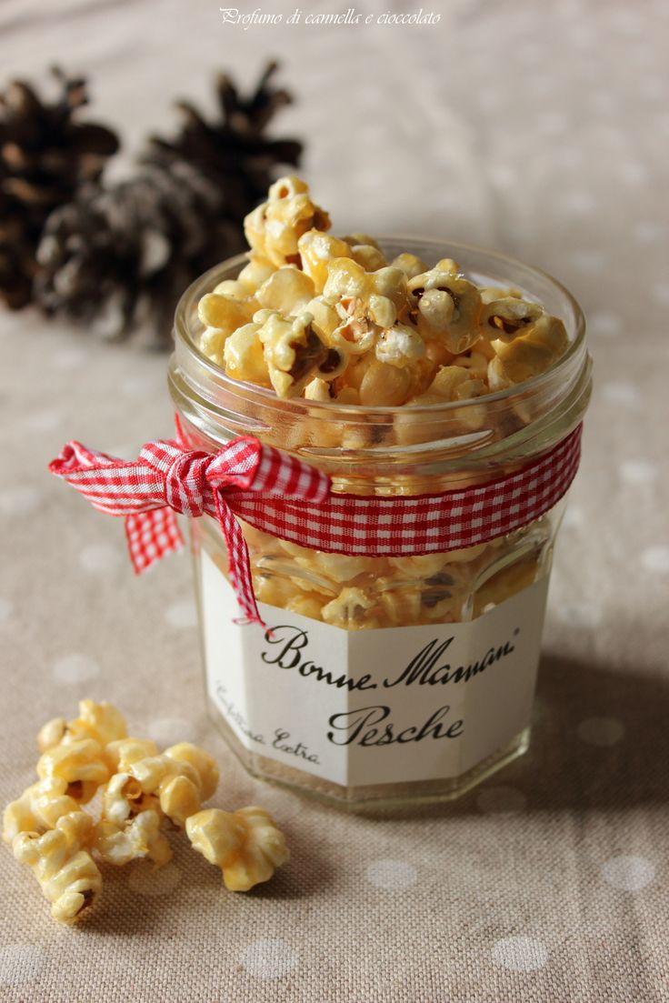 Profumo di cannella e cioccolato: #dolcidoni - Pop corn dolci