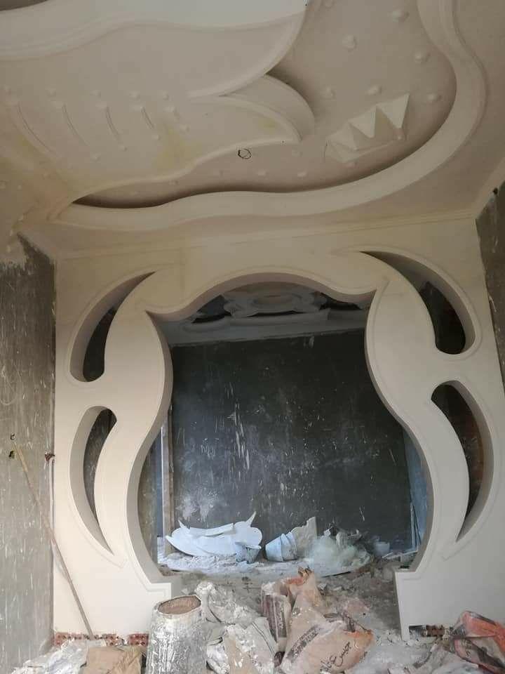 اقواس جبس مغربية للمداخل والممرات المودرن والحديثة Entrance Corridor Gypsum