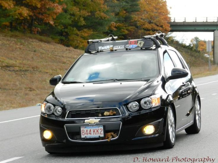 diy thule fairing onto chevy rack - Chevy Sonic Owners ...
