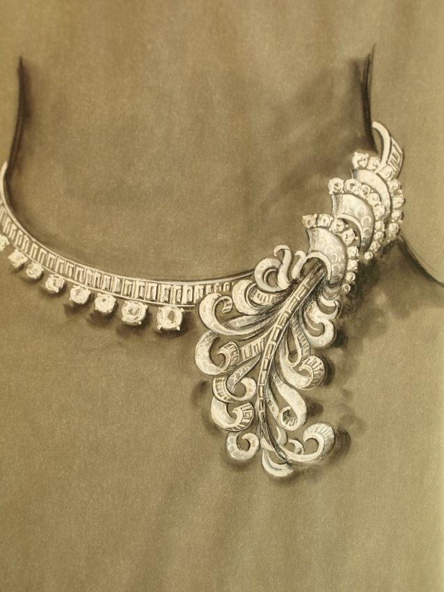 Les Trsors Du Quai DESSIN DE JOAILLIER Jewelry Sketch