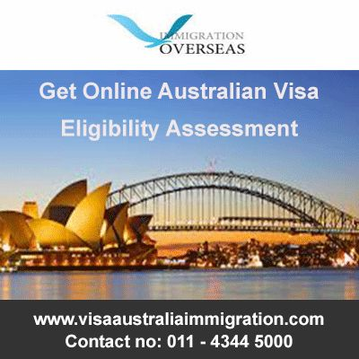 Looking for an online Australian visa eligibility assessment? For Free visa assessment contact now!