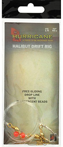 Hurricane Halibut Drift Rigs, #1/0  http://fishingrodsreelsandgear.com/product/hurricane-halibut-drift-rigs/?attribute_pa_size=1-0  Made of the highest quality materials Fishing terminal tackle rigs Another quality Hurricane product