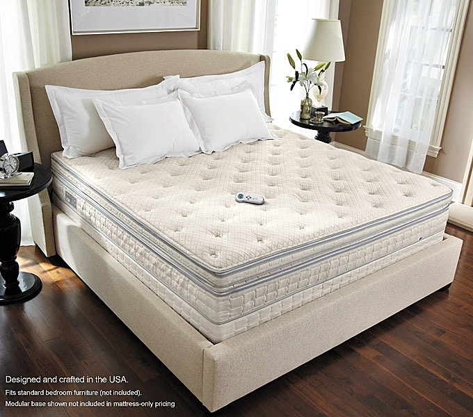 We have the Sleep Number® i8 bed with FlexFit Adjustable