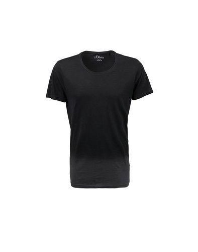 s.Oliver Denim Shirt mit Farbverlauf dunkelbraun