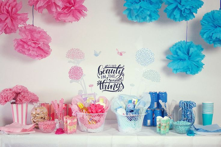 How to: boy and girl joint double baby shower party plan, invitations, decorations, etc.
