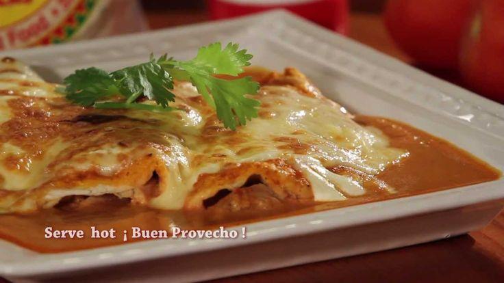 Receta de Enchiladas Suizas - Ole Mexican Foods