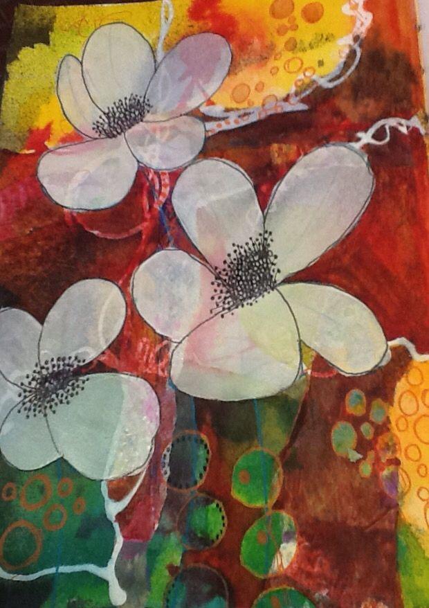 Sylvia Marris, White flowers