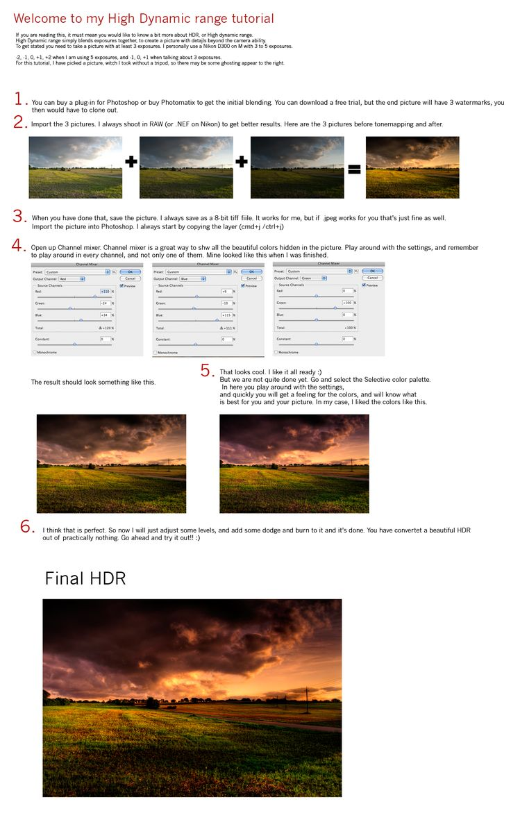 Free online photo editor selective coloring - Hdr Tutorial After I Have Received Like 20 Notes Only About Hdr Pictures I Decided To Give This Tutorial A Try